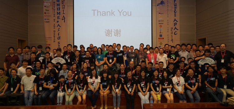 GNOME.Asia Summit 2014